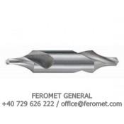 Burghiu de centruire DIN 333 - STAS 1114/2 - Forma R